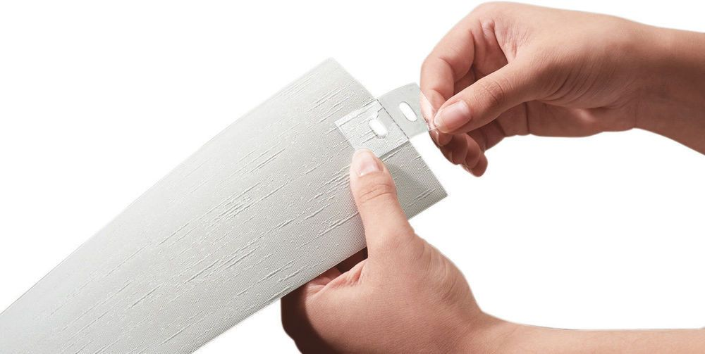 New Vertical Blind Repair Tabs 5 Pack Transparent Parts
