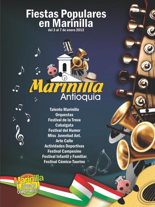 Fiestas populares en Marinilla, Marinilla, Antioquia, Colombia, 2013