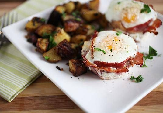 Bacon and Egg Cups - The Crepes of Wrath