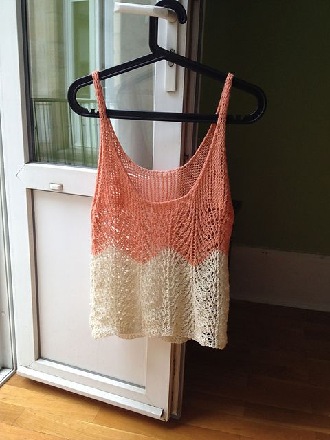 Tops Tanks Tees Free Knitting Patterns Knit And Crochet