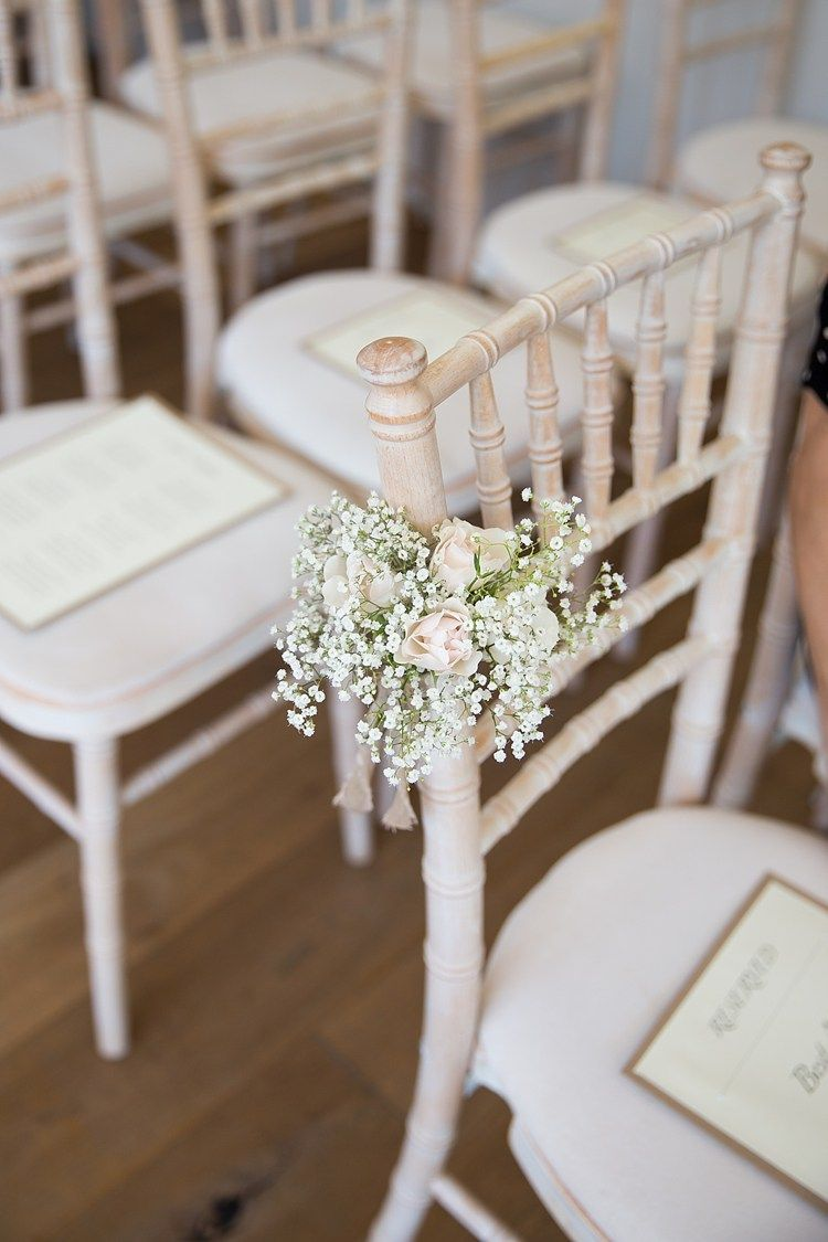 Pretty pastel country garden wedding gypsophila pastels and wedding chair flowers pew end aisle ceremony gypsophila rose pastel country garden wedding httpkatherineashdown junglespirit Images