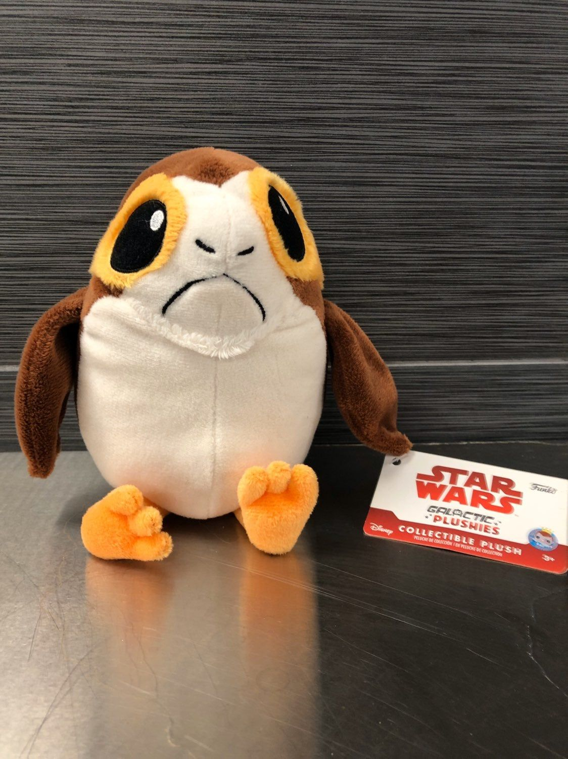Star Wars Exclusive Porg Funko 7inch Plush Brand New And Ships Fast We Have More Star Wars Plush To Bundle For A Big Discount Peluches