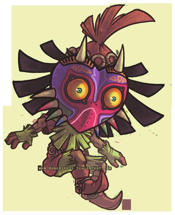 Skull Kid By Mad Stalker Chibi Toon Squad Majoras Mask