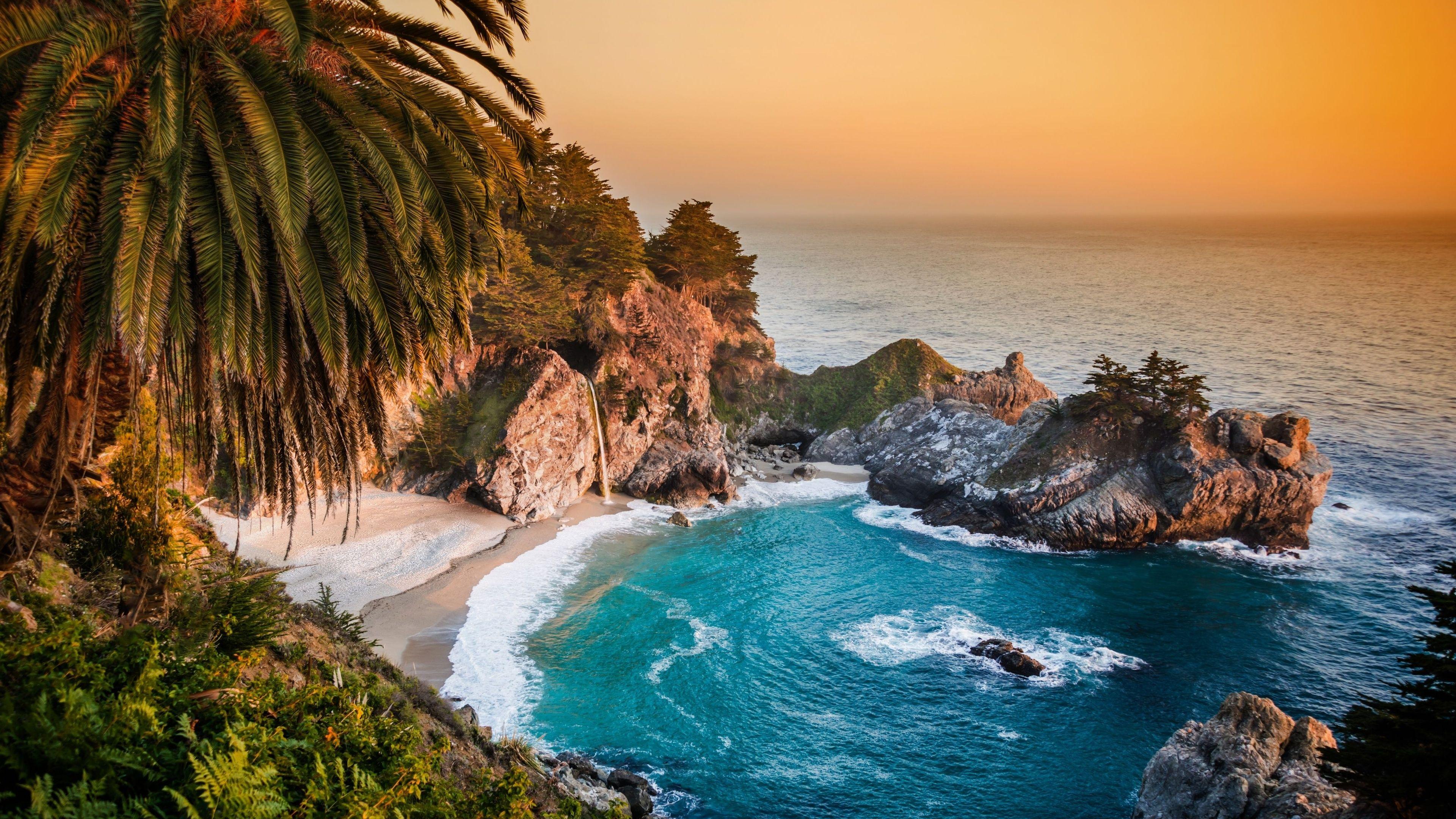 Pacific Ocean Rocks HD desktop wallpaper Widescreen High