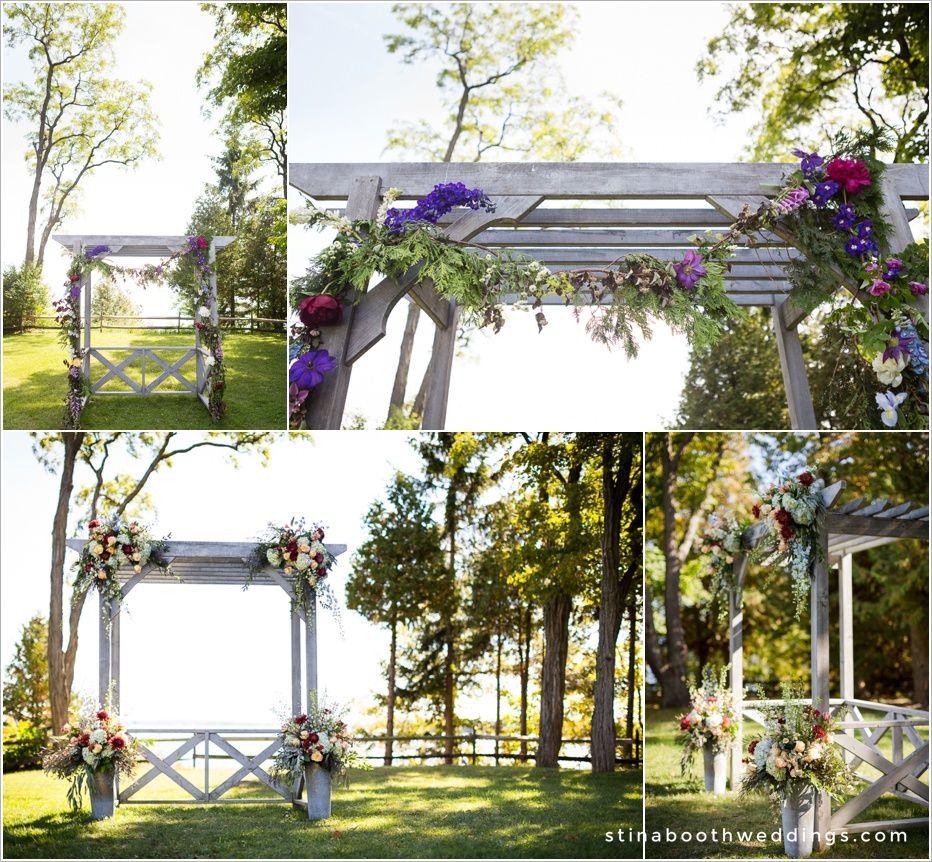 Vermont Wedding Flowers: Grand Isle Lake House Weddings