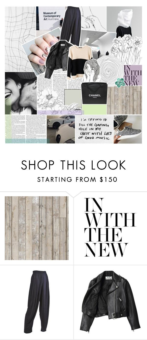 """with them kylie jenner lips."" by annamari-a ❤ liked on Polyvore featuring Piet Hein Eek, Emanuel Ungaro, Acne Studios, Ash Rain + Oak, Chanel, women's clothing, women, female, woman and misses"