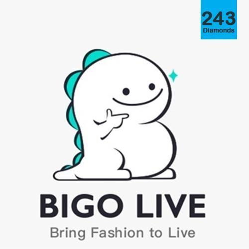 BIGO Live 243 Diamonds (Direct Top up) Diamonds direct