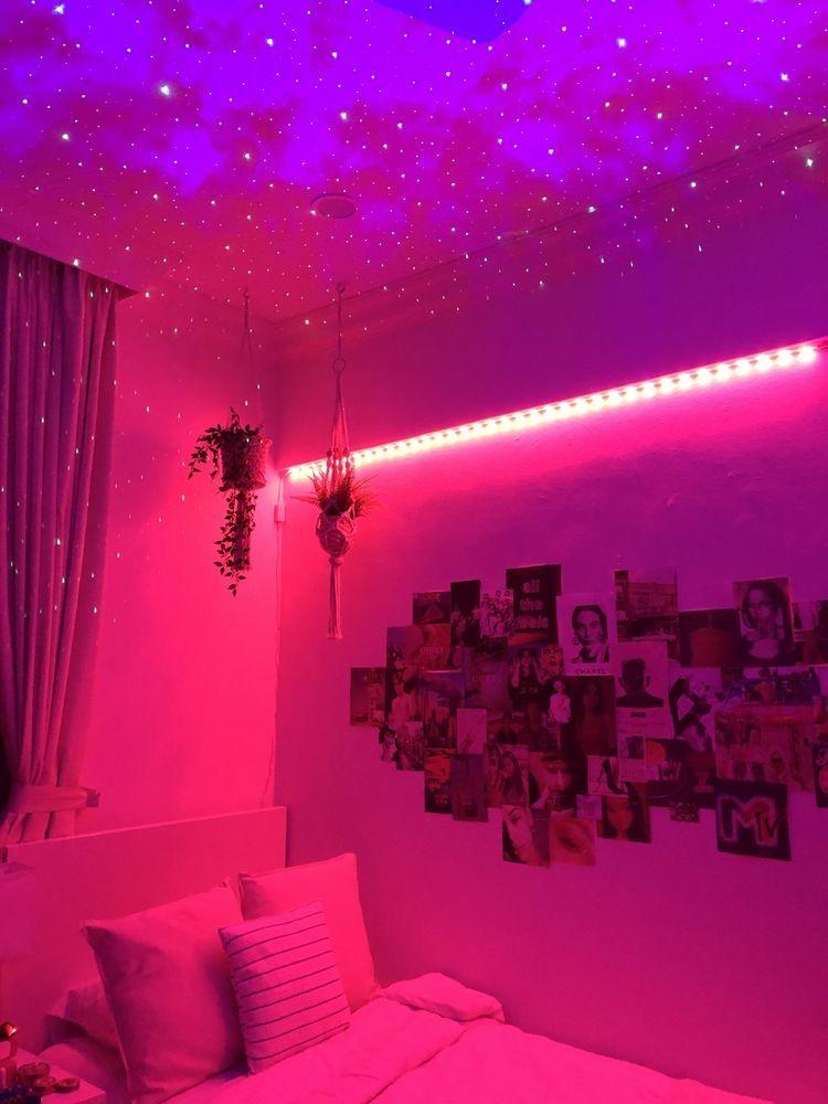 Pinterest Lucyfloris In 2020 Neon Room Led Lighting Bedroom Neon Bedroom