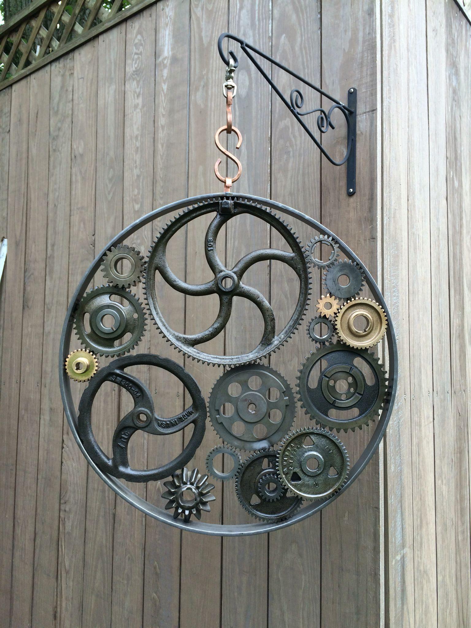 Machine Age ll Www.timothymhiggins.com   Scrap metal art ...
