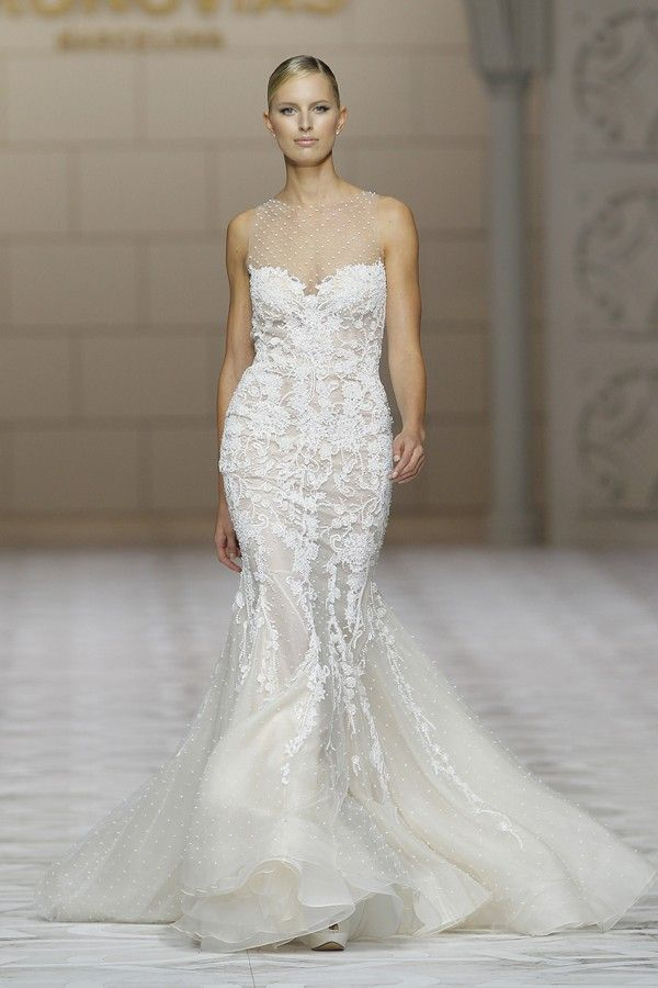 Spectacular Pronovias Collections at Barcelona Bridal Week