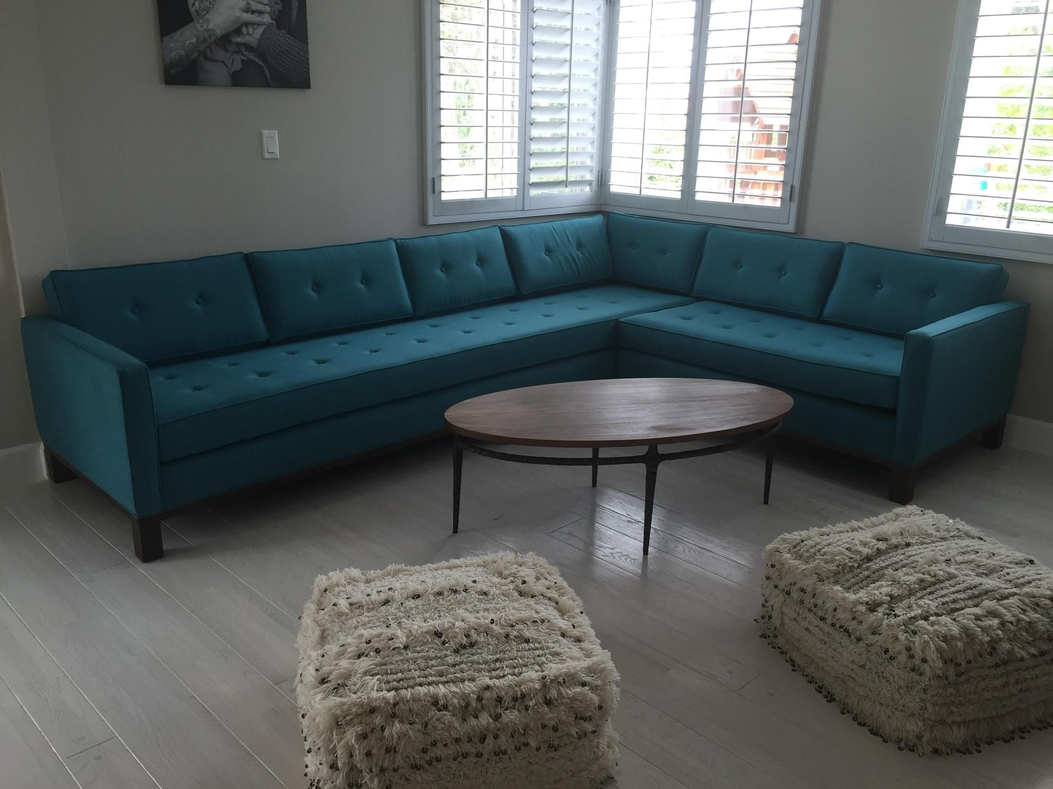 Furniture of america chaves contemporary 3 piece sofa set - Joybird Raine L Sectional 4 Piece Custom From Dawn M