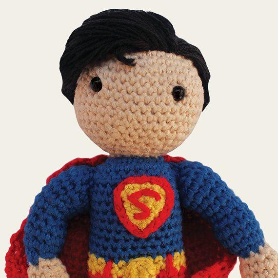 Superman - DC Comics. Amigurumi Pattern PDF, DIY, Crochet Pattern ...