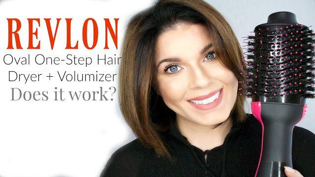 Revlon Oval One Step Hair Dryer And Volumizer Review Girlythingsby E Revlon Hair Dryer Hair Volume Hair