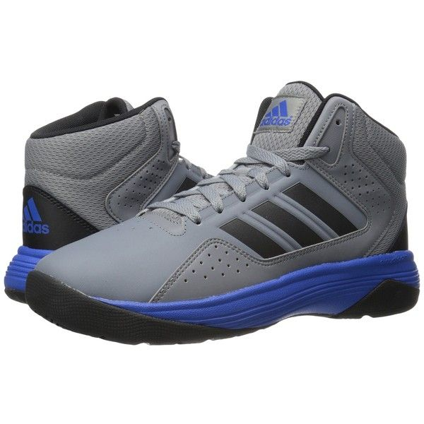 adidas cloudfoam ilation mid men's leather basketball shoes