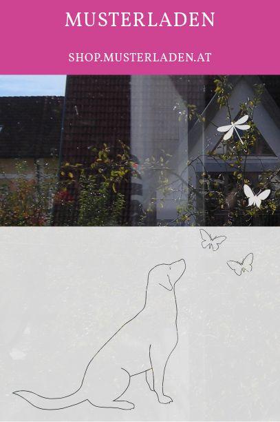 Sichtschutz für Hundeliebhaber, für Kinderzimmer, Tierarzt Praxen - folie für badezimmerfenster