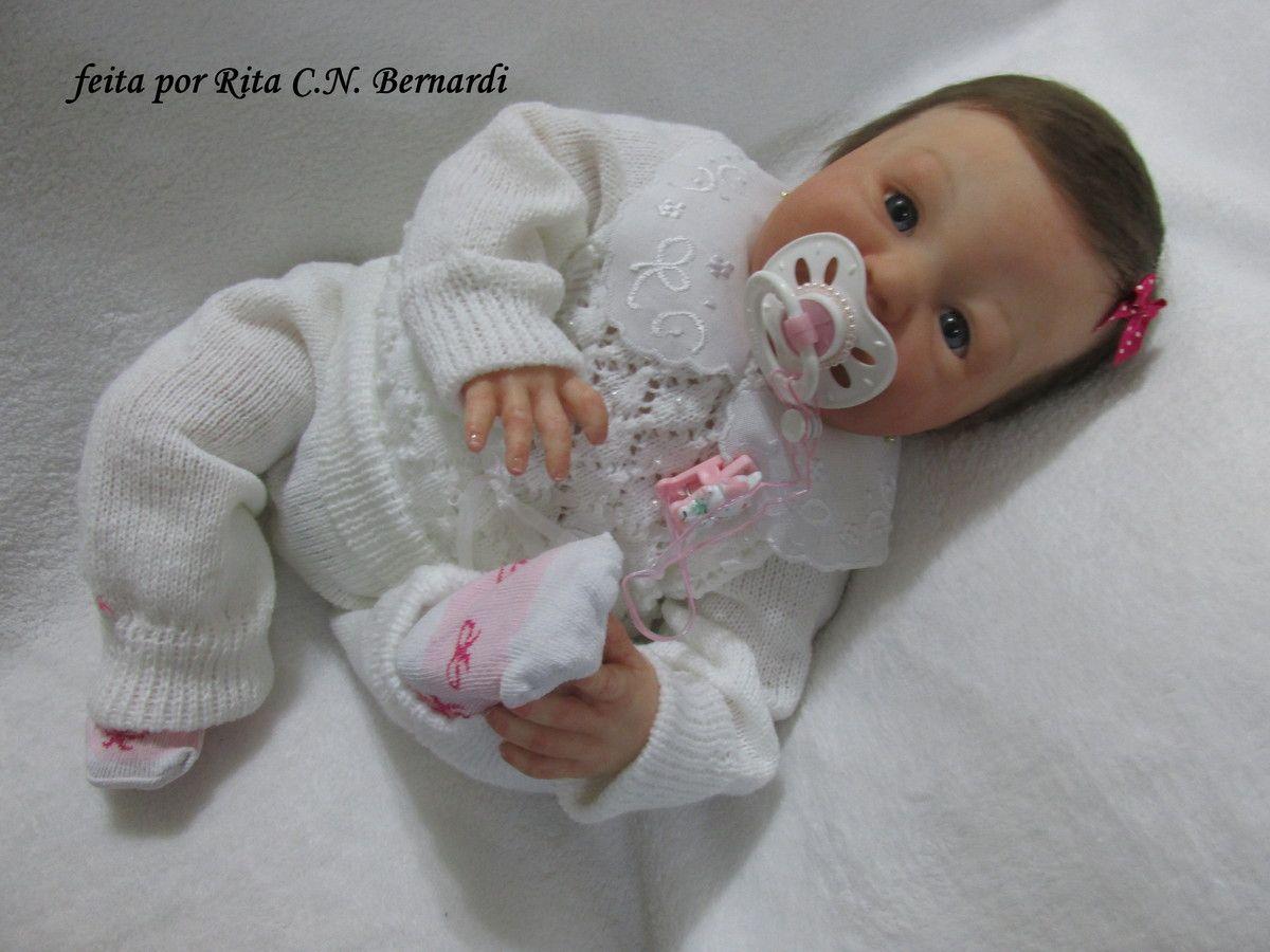 Bebê reborn Maria Rafaela-sob encomenda  a5c9bf9d0ee