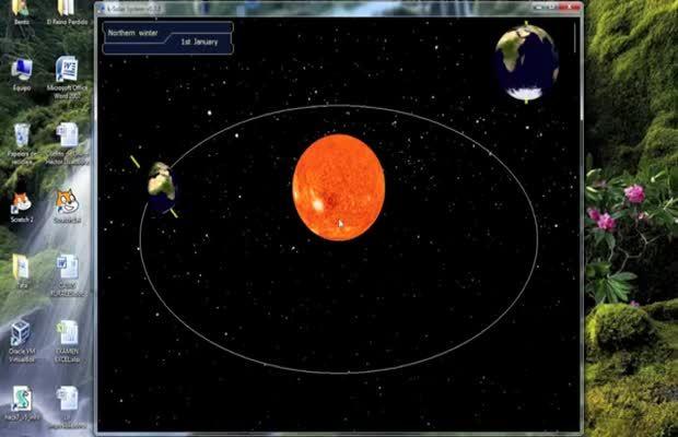 Noticia sobre los alumnos del Juan de Lanuza, de zaragoza, e donde utilizan el programa de estudio del sistema solar en 3D para estudiar esta materia utilizando la realidad aumentada de manera muy útil para su aprendizaje. #realidadaumentada #sistemasolar