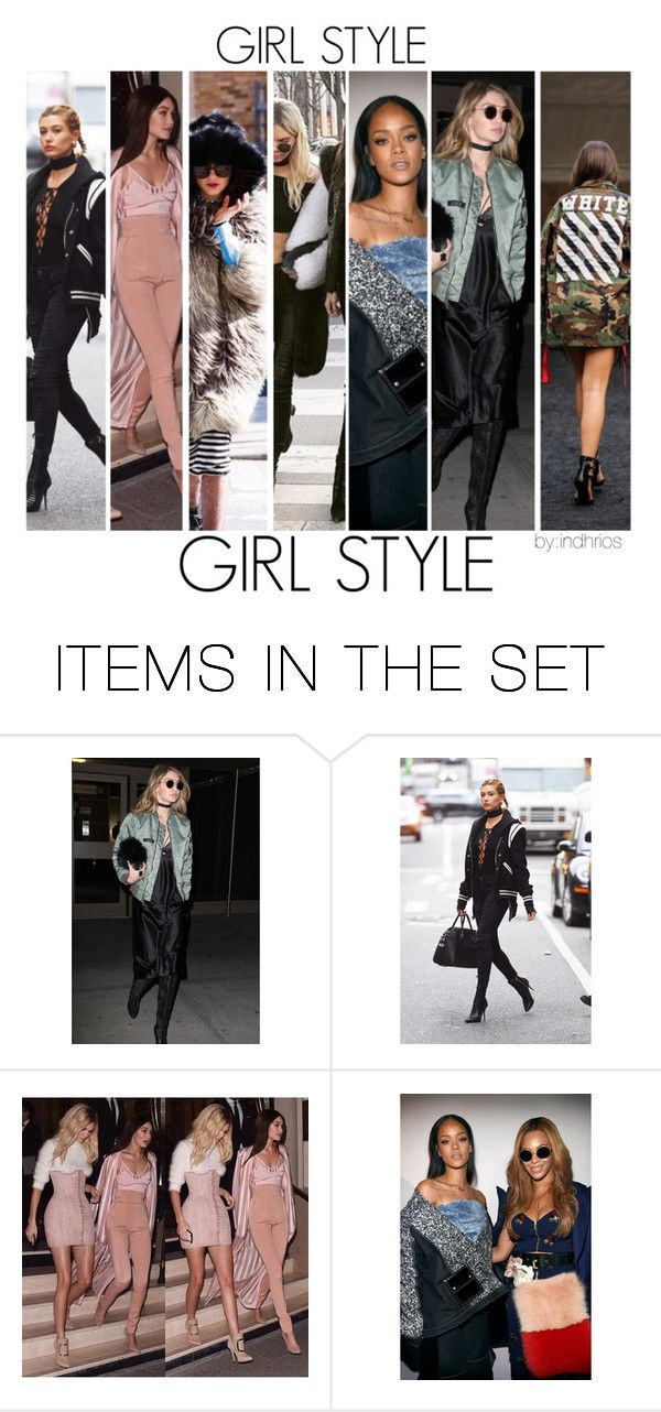 """""""girl style"""" by indhrios ❤ liked on Polyvore featuring art"""