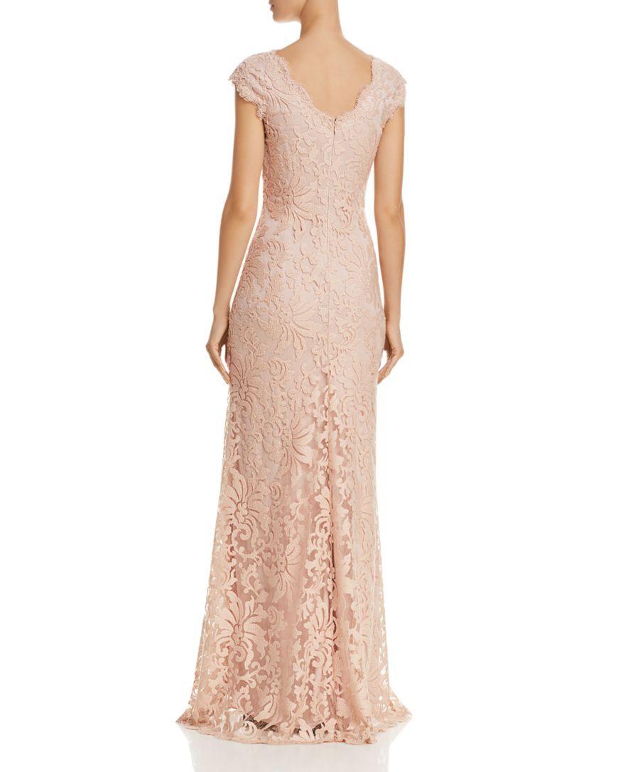 Tadashi Shoji Illusion Lace Gown- 100% EXCLUSIVE | MY STYLE ...