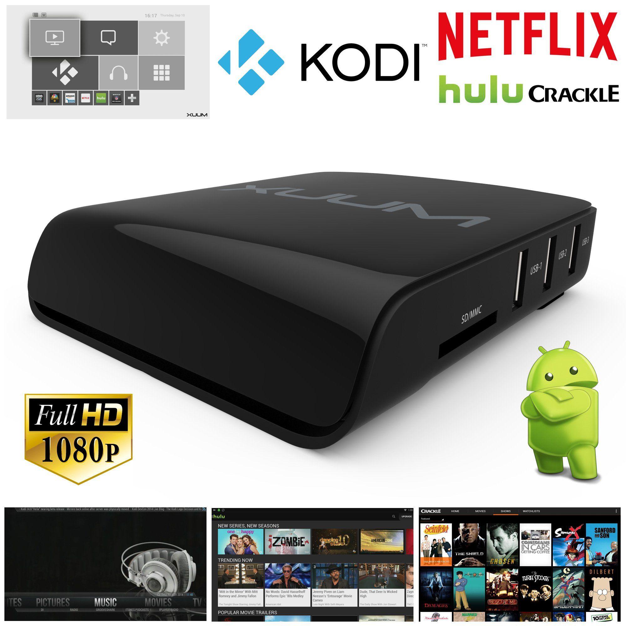 Xuum Quad Core Android 4 4 Smart Tv Box Xbmc Kodi Media Player