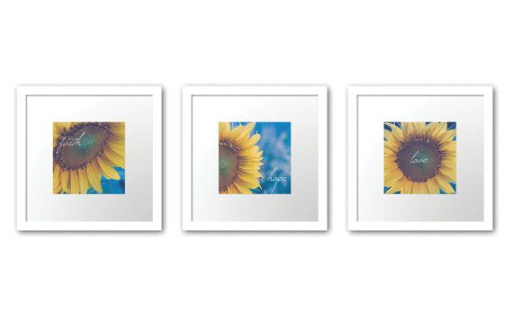 Hey, I found this really awesome Etsy listing at https://www.etsy.com/listing/159738568/inspirational-sunflower-art-faith-hope