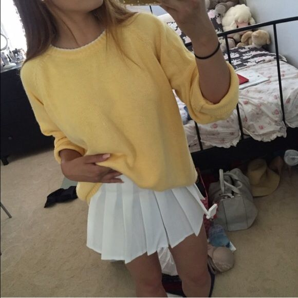 American Apparel Skirts White Pleated Tennis Skirt Tennis Skirt Outfit White Tennis Skirt White Pleated Tennis Skirt