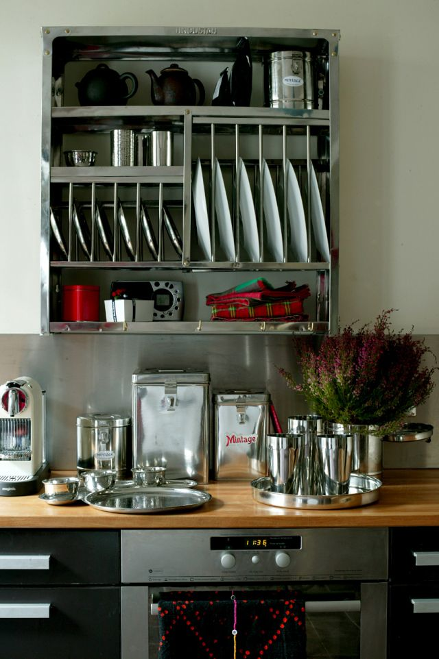 inox plate racks kitchens and lofts. Black Bedroom Furniture Sets. Home Design Ideas