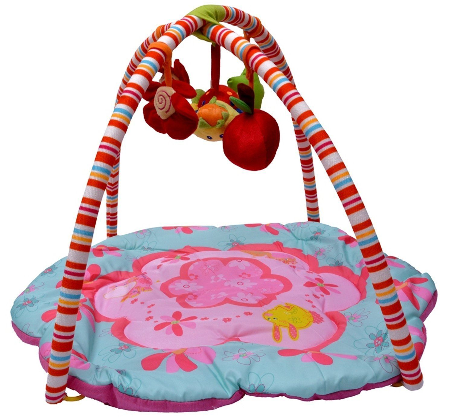 Baby Play Gym Mat The Pinky House Soft Padded with 4 soft