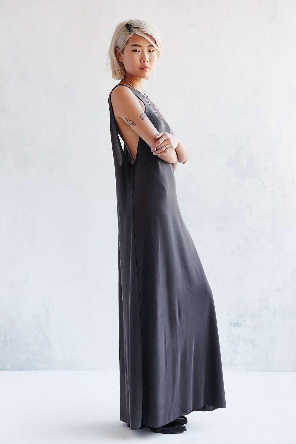 Silence Noise Avaline Two Way Cupro Maxi Dress Urban Dresses Dresses Maxi Dress