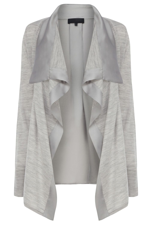 Kristen zip back cardi made from soft merino wool #Bastyan #SS14