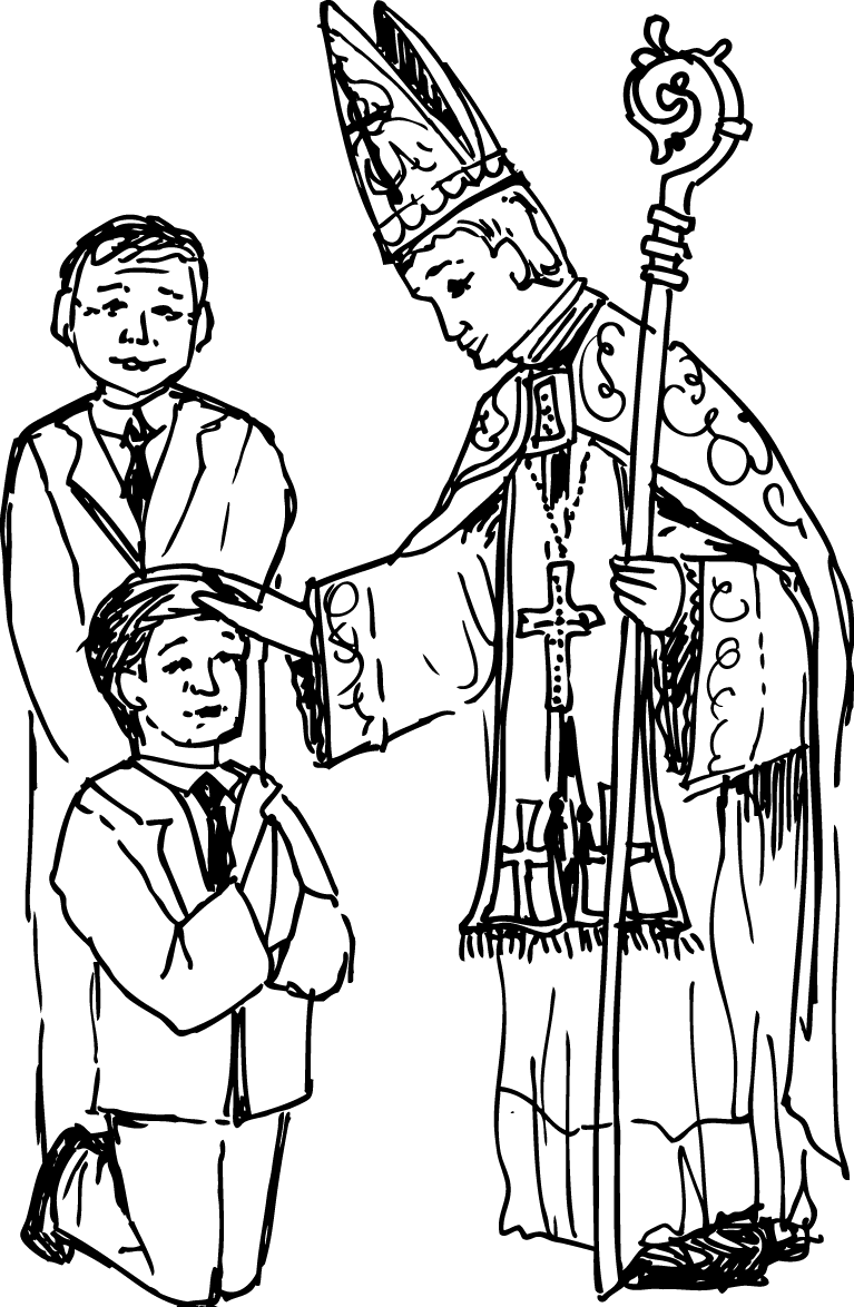 Coloring pages for sacraments - Catholic Coloring Page Coloring Pages Pictures Imagixs
