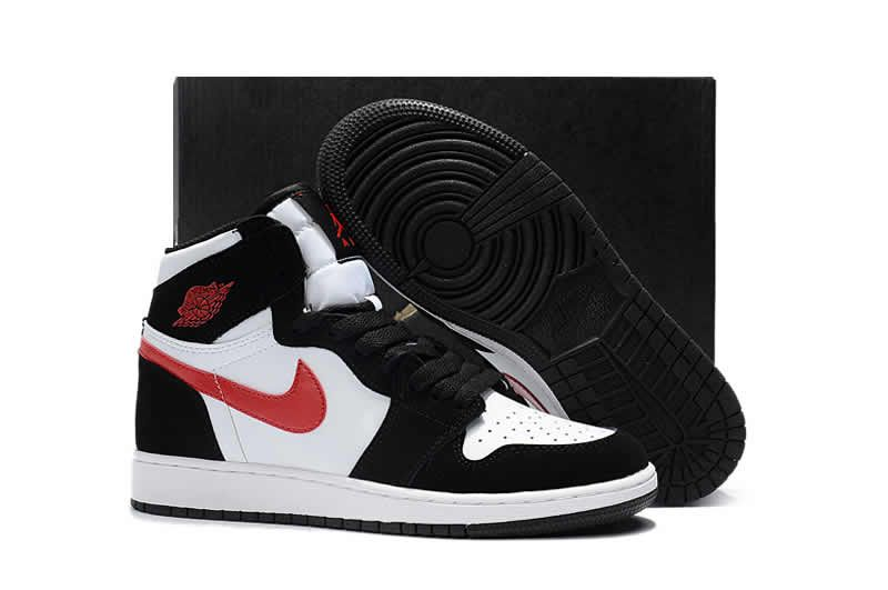 super popular be950 ecbf7 Womens air jordan 1 retro high bg black gym red white 705300 020 basketball  shoes