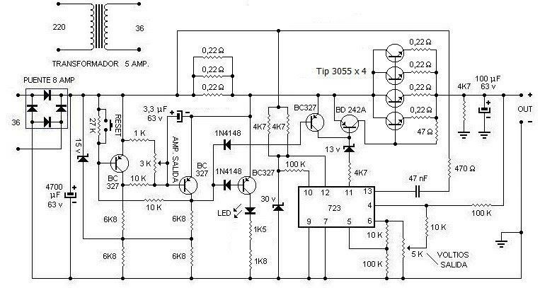 Hight Current Power Supply