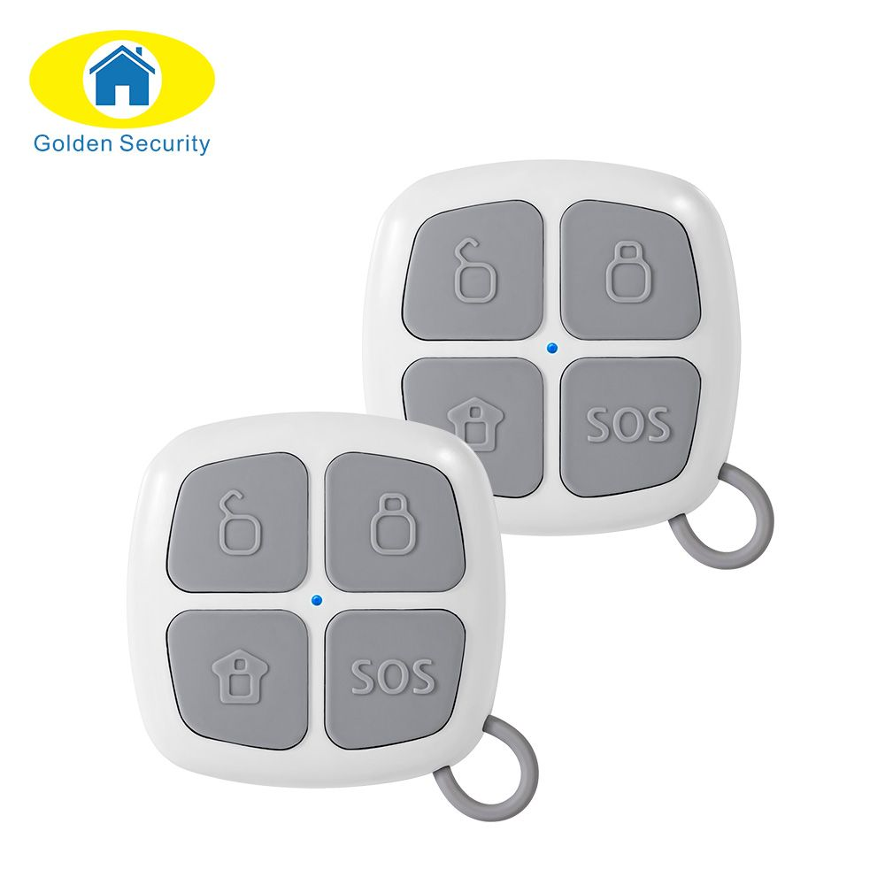 Golden Security 433Mhz Remote Control Alarm Key for G90E G90B Security WiFi Home