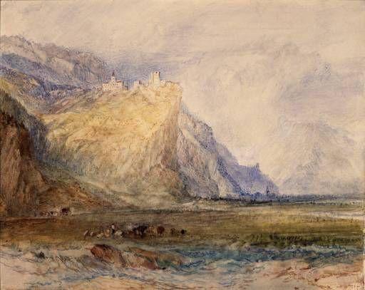 Joseph Mallord William Turner 'Alpine Landscape', ?1843