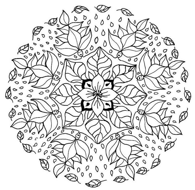 Flower Mandala Coloring Pages Mandala Coloring Pages Mandala Coloring Flower Mandala
