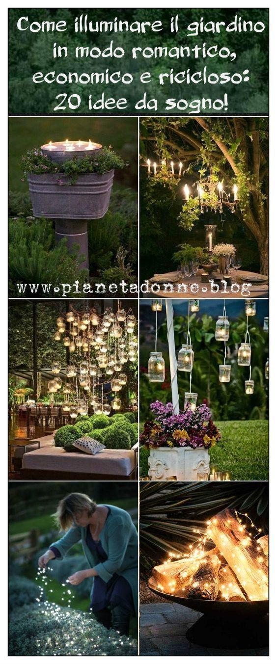Photo of Come illuminare il giardino in modo romantico, economico e ricicloso: 20 idee da sogno!