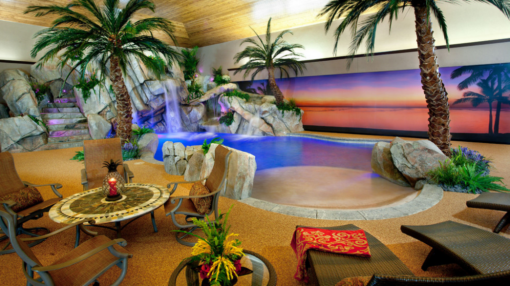 indoor lagoon style swimming pools designed and built by shehan pools