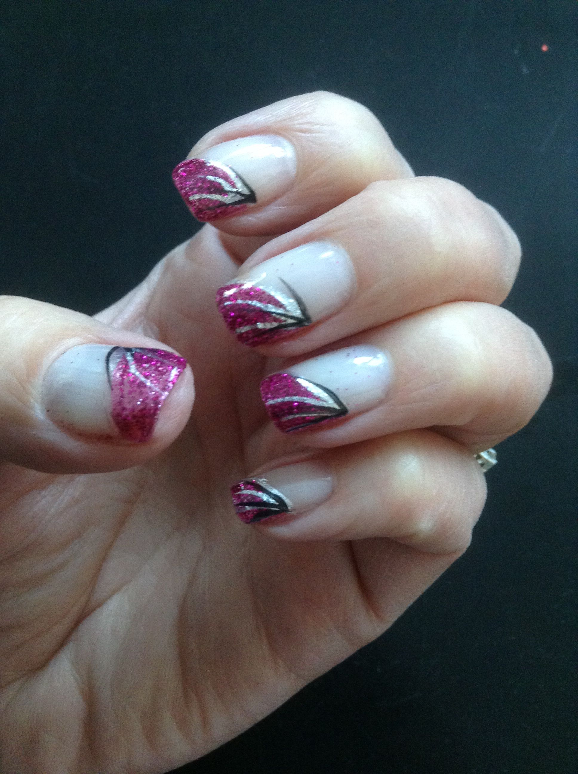 Nails by Nancy :) Pretty in pink