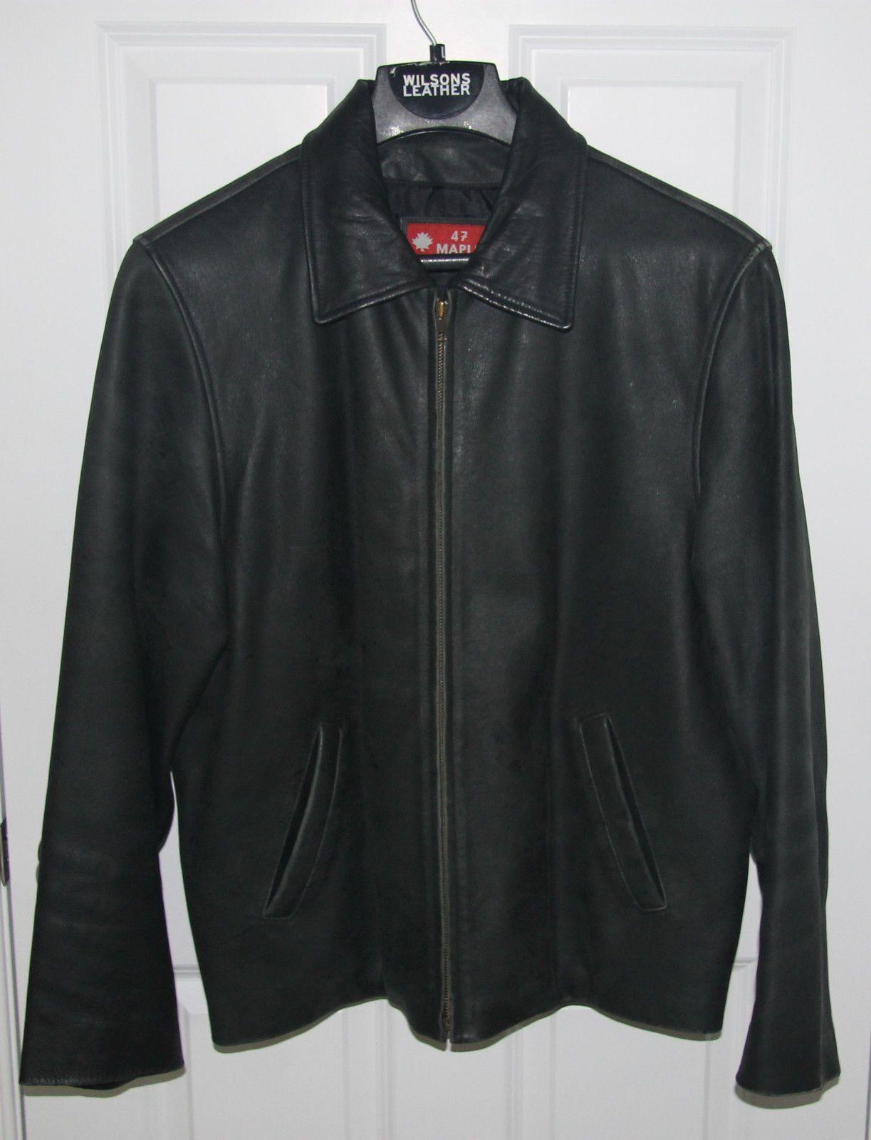 MAPLE Men's Solid Black Leather Jacket Size L https://t.co/hjwrpuuq9L https://t.co/uZIdVnsUZs http://twitter.com/Xuisxa_Geertu/status/773813574552719360
