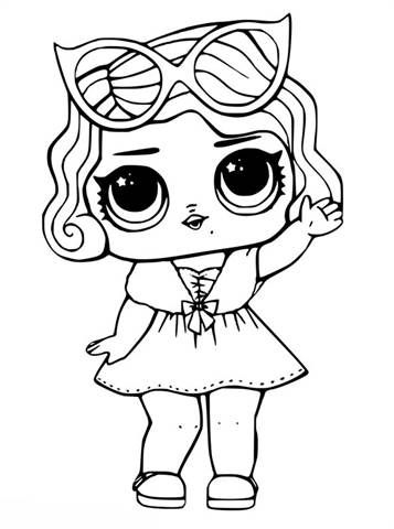 kidsnfun  30 coloring pages of lol surprise