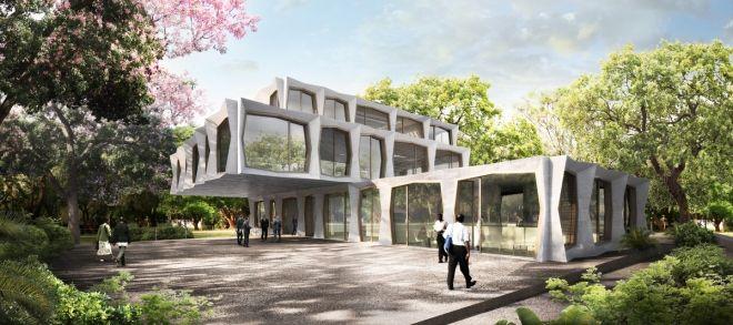Swiss Embassy Nairobi, Manuel Herz Architects