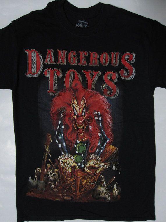 DANGEROUS TOYS t-shirt s-xxl top-notch merch by HEAVYROXX T - excellent customer service