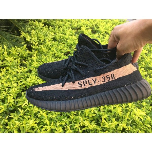 Adidas Originals Yeezy Boots 350 V2 SPLY Black Pink Stripe