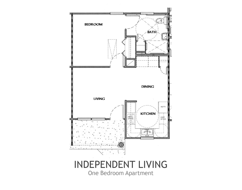 Handicap Apartment Floor Plans With Images Apartment Floor Plans Small House Floor Plans One Bedroom House Plans