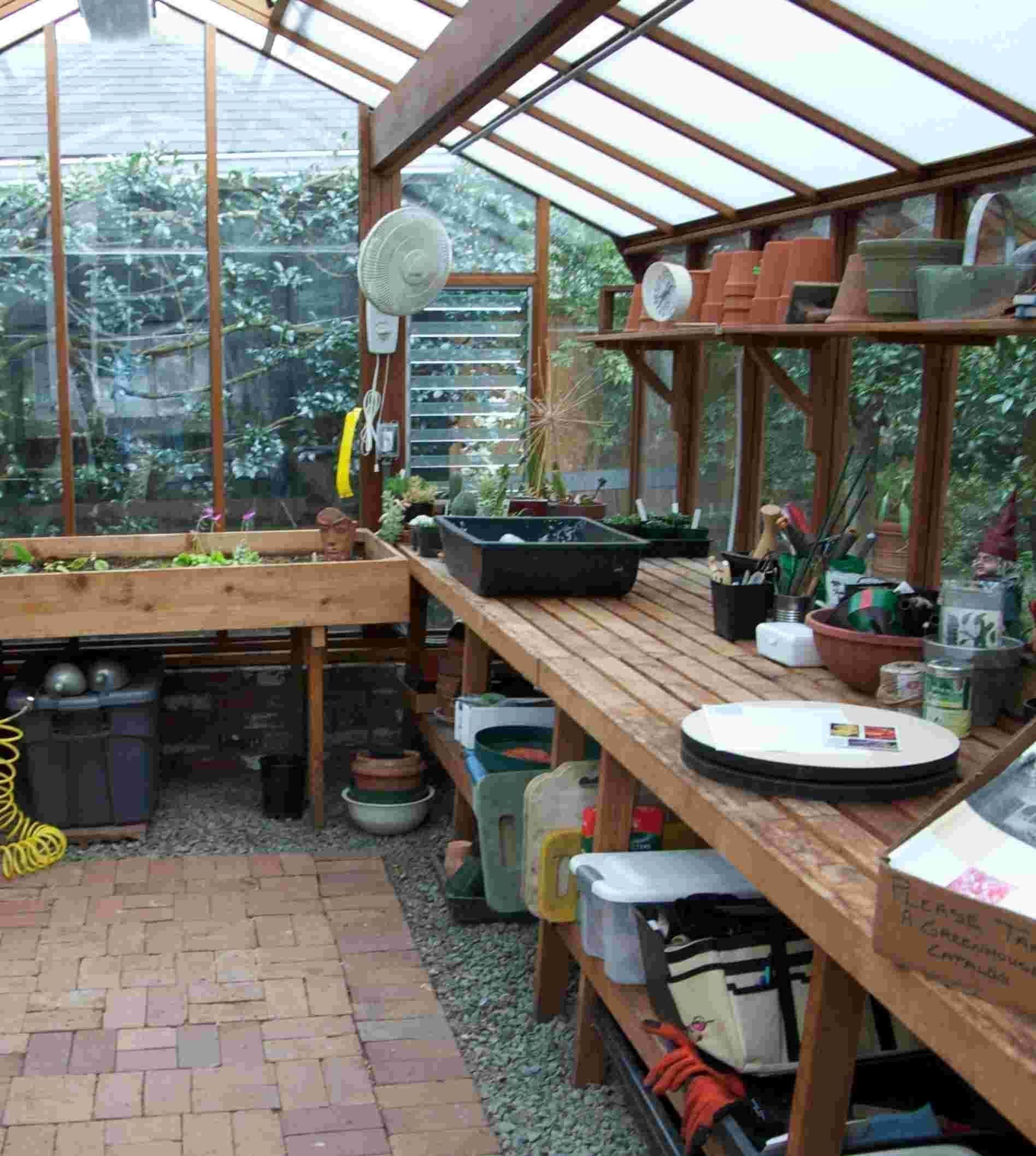 Greenhouse Layout Ideas The Four Basic Greenhouse Designs For