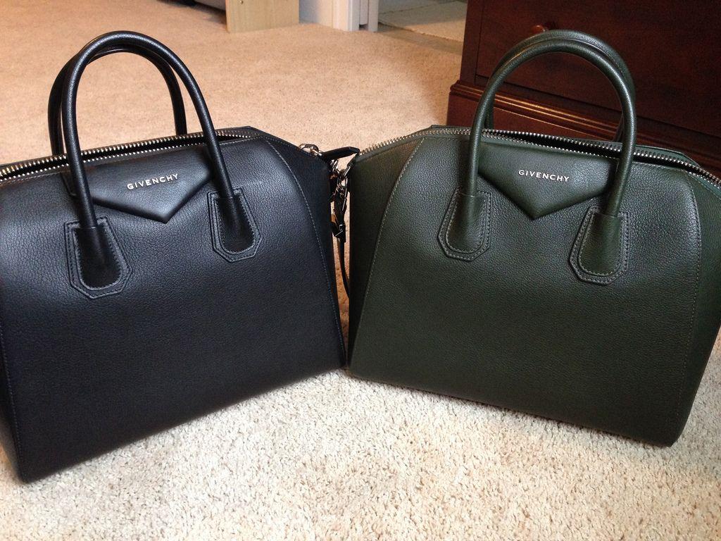 Yes to both please! Givenchy medium Antigona handbags in Black Ant ...