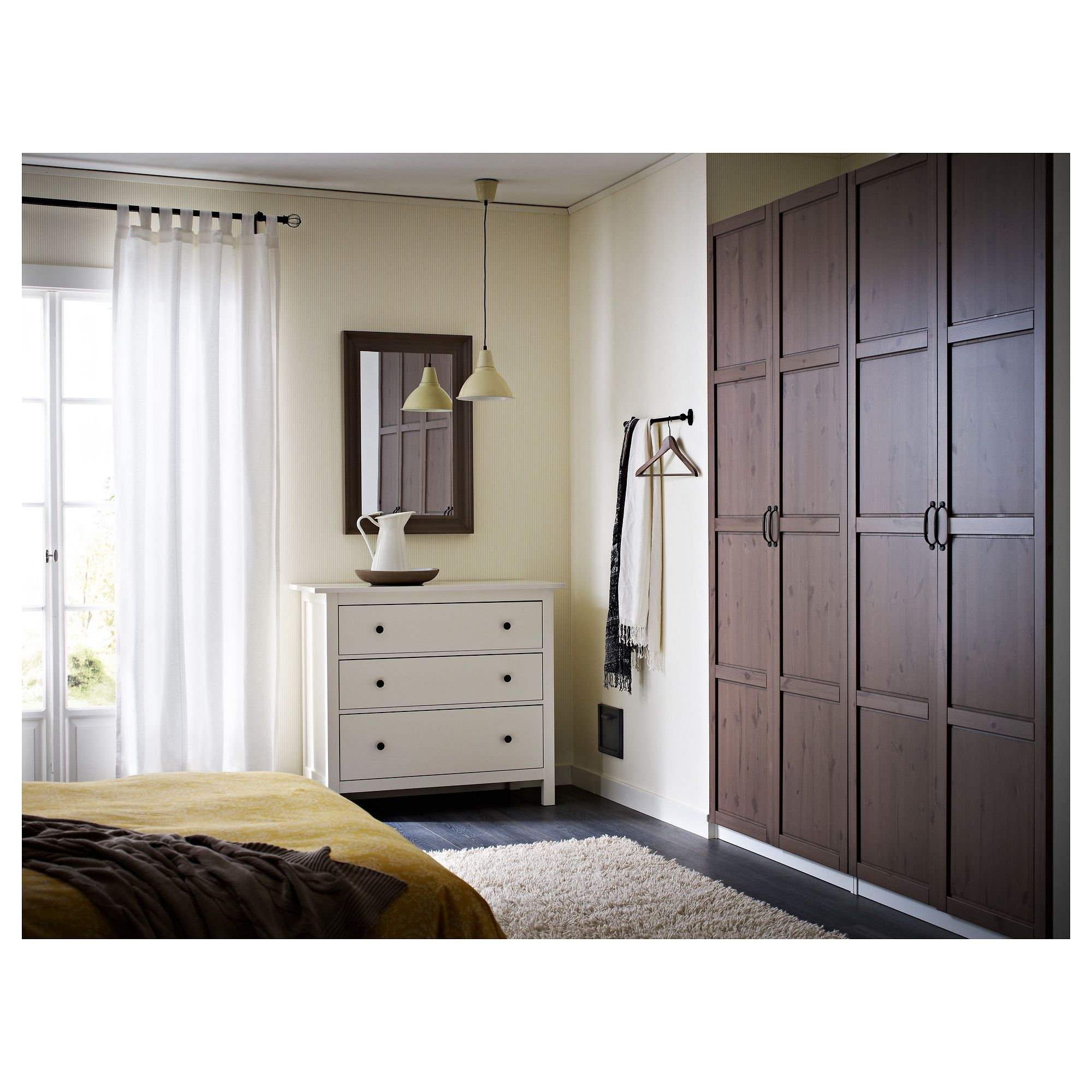 Armoire Sdb Ikea Hemnes Mirror Black Brown Home Decor Pinterest
