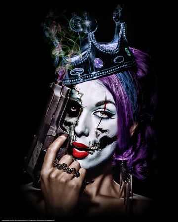 Killer Queen Fantasy Art Print