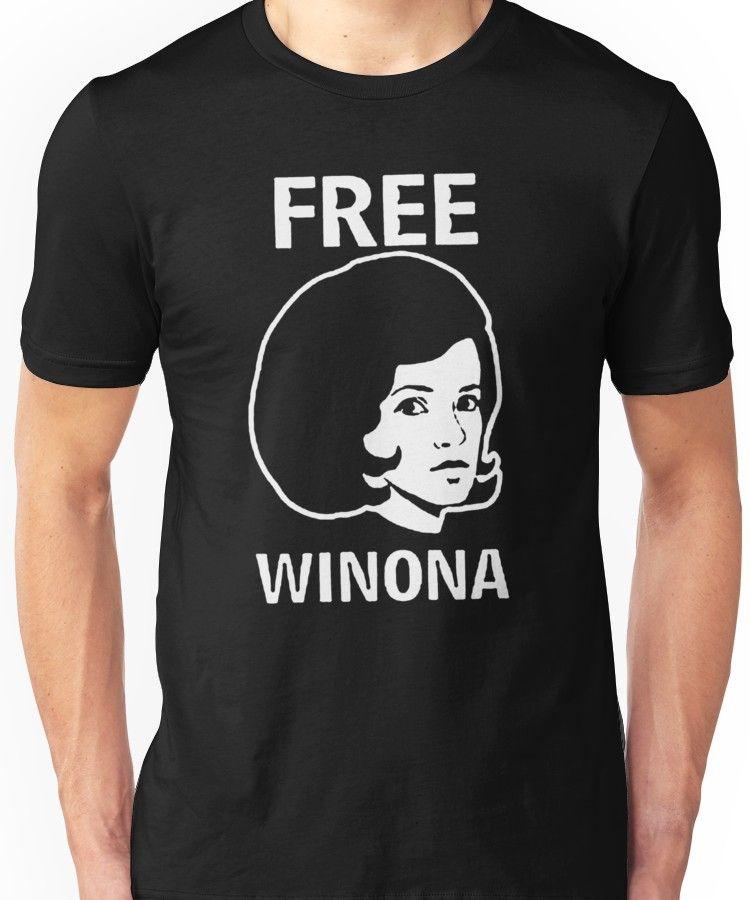 'FREE WINONA Ryder DEPP brooklyn Hip TMZ NYC Hollywood Celebrity' T-Shirt by andin97